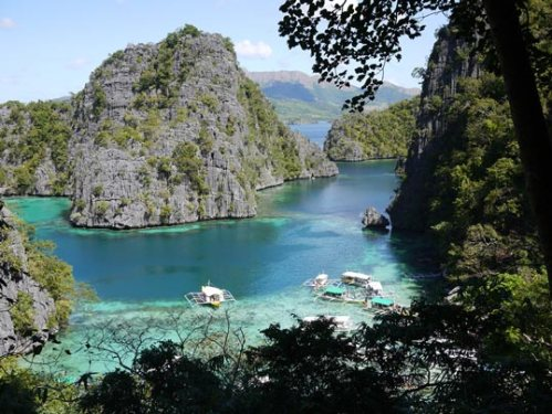 Beautiful view from Coron Island.