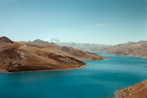 Beautiful Yamdrok Lake